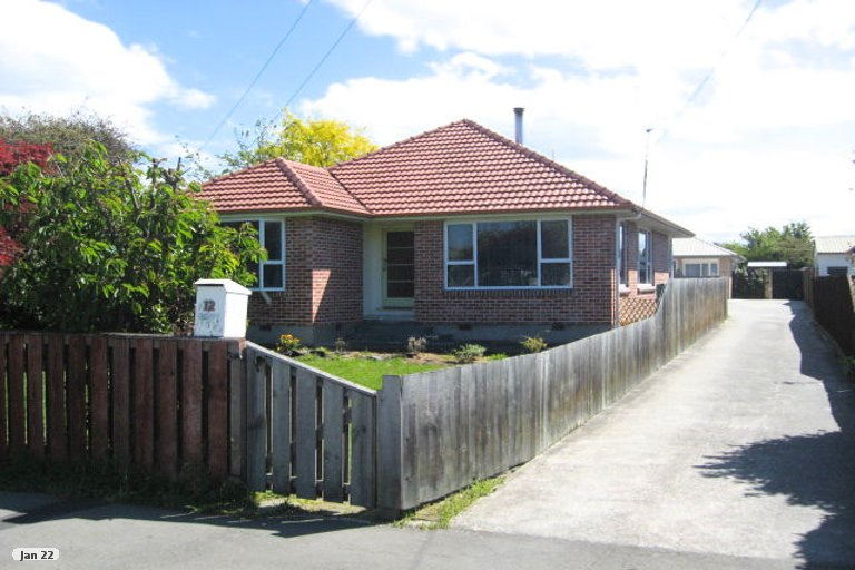 Property photo for 12A Jocelyn Street, Casebrook, Christchurch, 8051