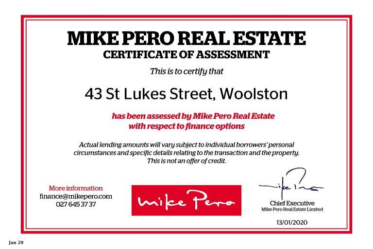 Property photo for 43 Saint Lukes Street, Woolston, Christchurch, 8062