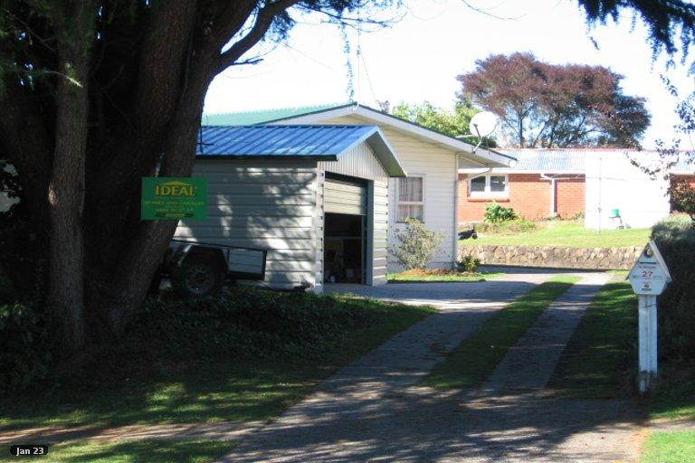 Property photo for 27 Fitzherbert Street, Putaruru, 3411