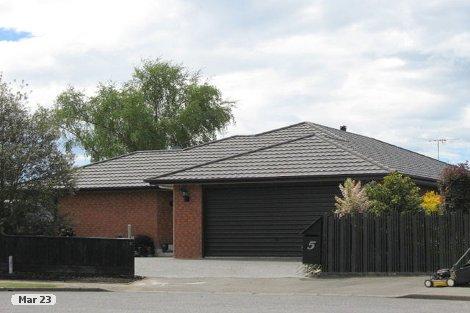 Photo of property in 5 Grove Place Rangiora Waimakariri District