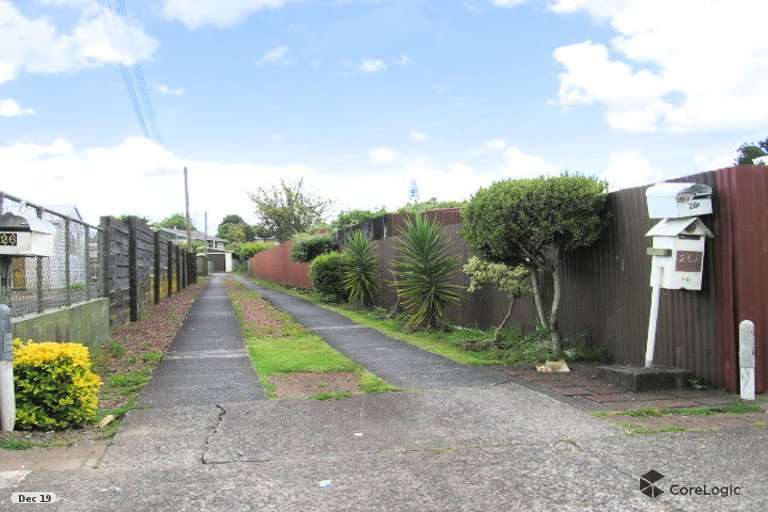 Property photo for 2/26A Claude Avenue, Papatoetoe, Auckland, 2025