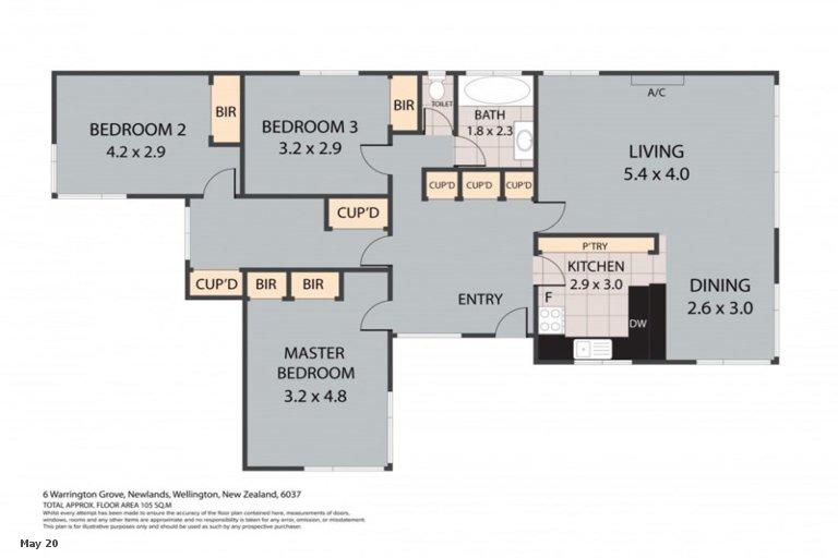Property photo for 6 Warrington Grove, Newlands, Wellington, 6037