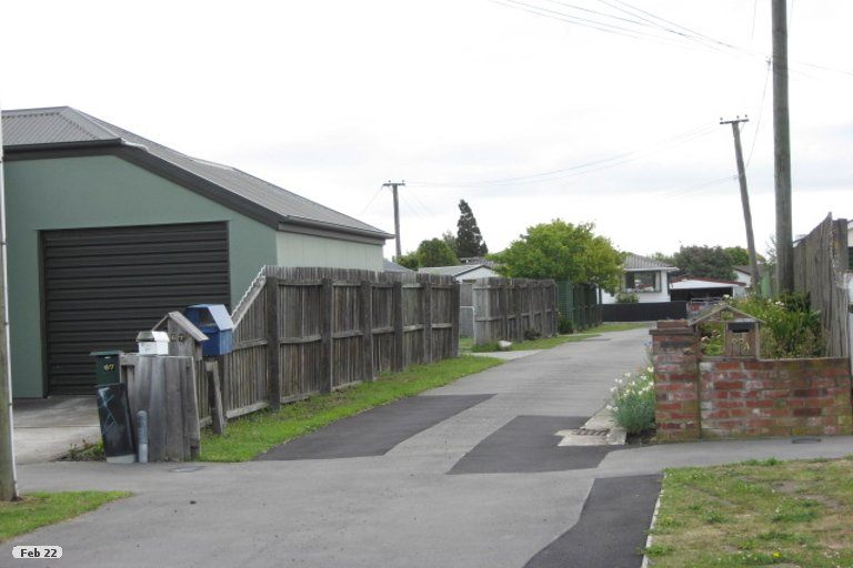 Property photo for 67B MacKworth Street, Woolston, Christchurch, 8062
