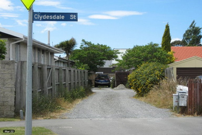Property photo for 1/58 Clydesdale Street, Woolston, Christchurch, 8062
