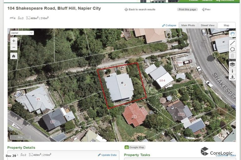 Photo of property in 104 Shakespeare Road, Bluff Hill, Napier, 4110