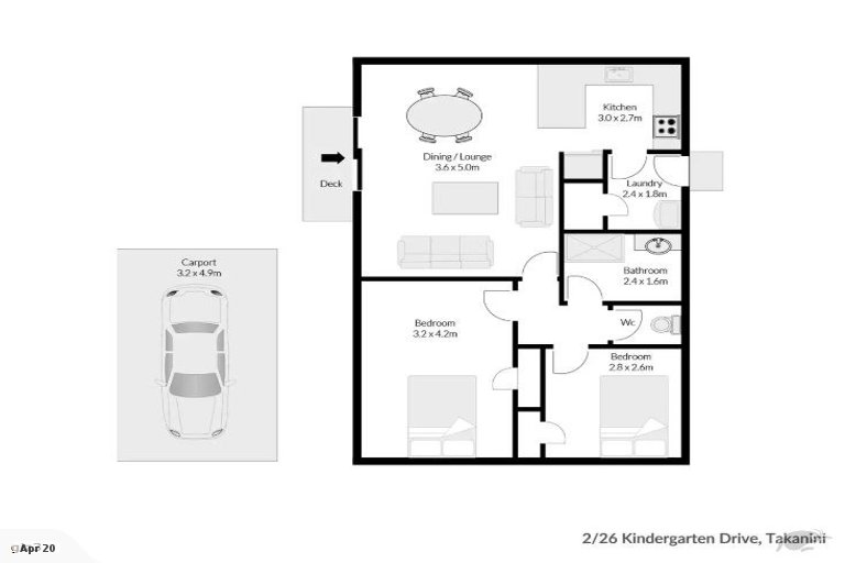 Property photo for 2/26 Kindergarten Drive, Conifer Grove, Takanini, 2112