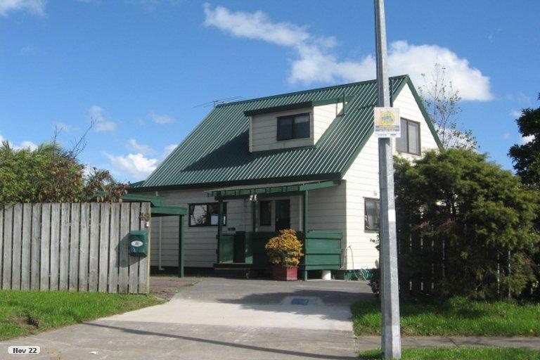 Property photo for 48 De Quincey Terrace, Highland Park, Auckland, 2010