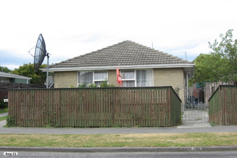 Property photo for 44 Frensham Crescent, Woolston, Christchurch, 8062