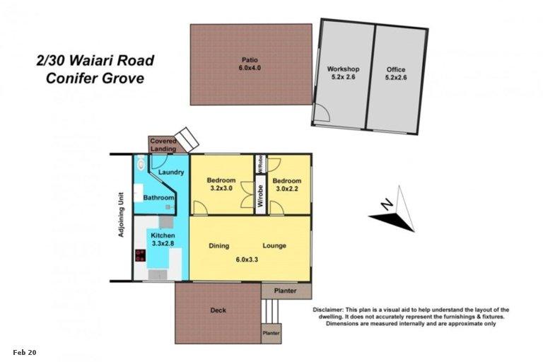 Property photo for 2/30 Waiari Road, Conifer Grove, Takanini, 2112