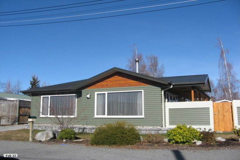 Photo of property in 5 Bendrose Place, Twizel, 7901
