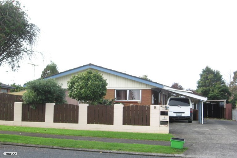 Property photo for 2/8 Liam Place, Half Moon Bay, Auckland, 2012