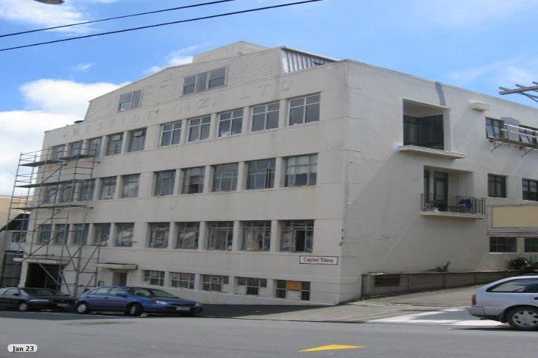 Photo of property in Victoria Villas, 41/35 Pirie Street, Mount Victoria, Wellington, 6011