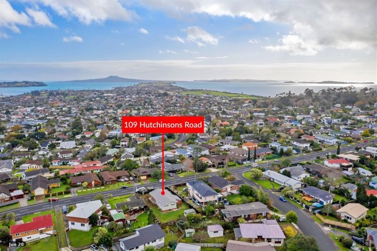 Property photo for 109 Hutchinsons Road, Bucklands Beach, Auckland, 2014