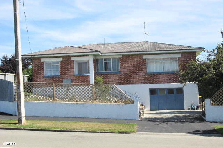 Photo of property in 21 Barnes Street, Glenwood, Timaru, 7910